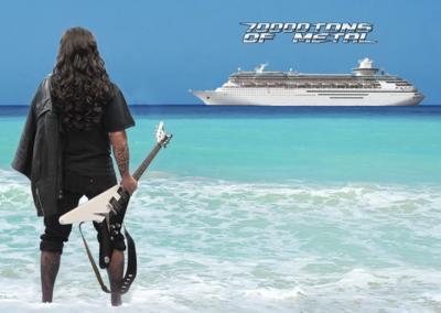 """El """"barco de colegas"""" se hace realidad: primer festival-crucero metal"""